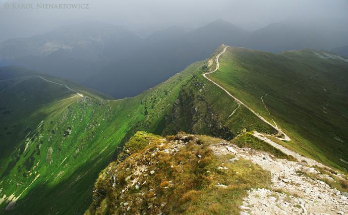 Rejon Wielkich Jam i Gaborowej Przełęczy – prawdopodobnie jeden z najbardziej obfotografowanych fragmentów Tatr.