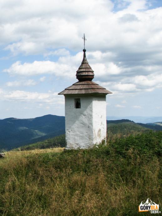 Bulandowa kapliczka na polanie Jaworzyna Kamienicka