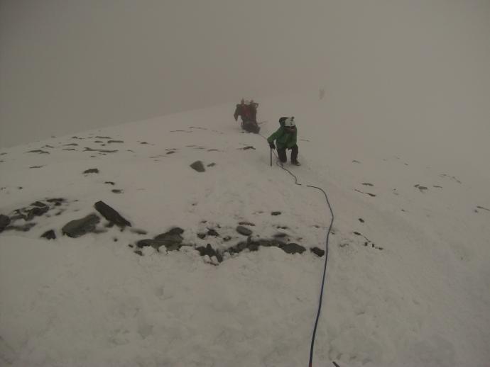 Na wysokości około 3500 m