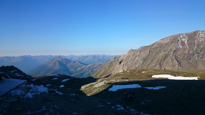 Panorama ze Studlhutte