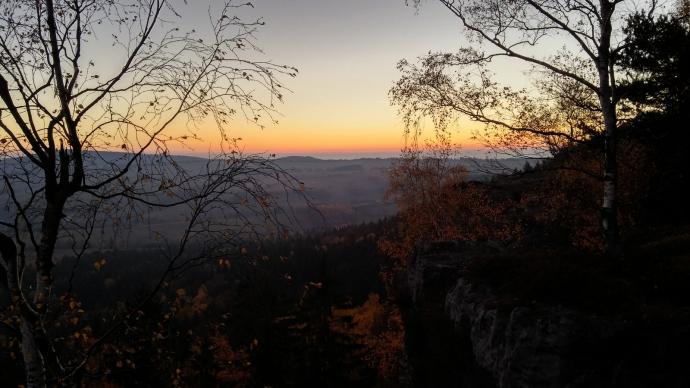 Zachód słońca na Kopie Śmierci