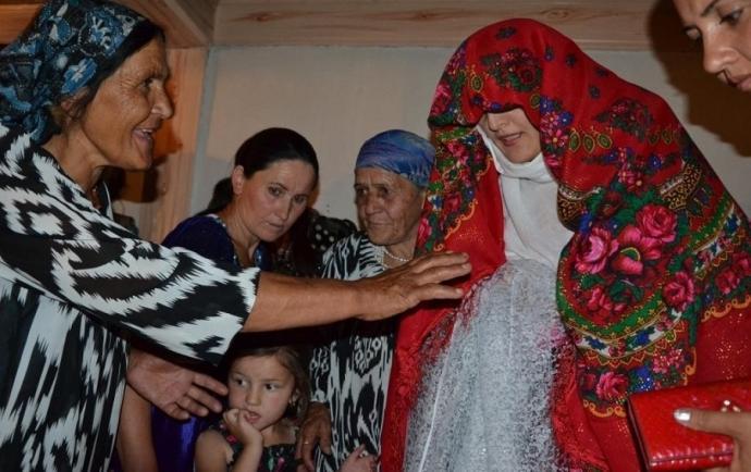 Na weselu u Pamirczyków