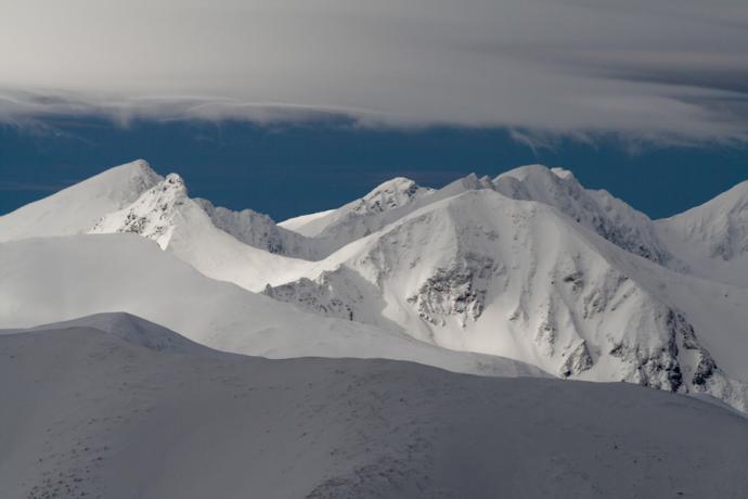 Tatrzańskie granie zimą