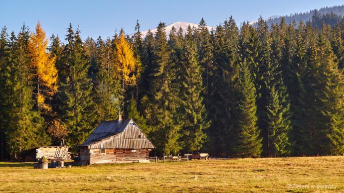 Z Tatrami Zachodnimi żegnamy się jak zwykle pięknymi widokami.