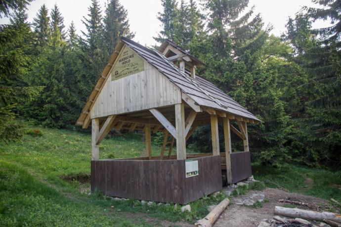 Niżne Tatry - Táborisko v Hiadeľskom sedle