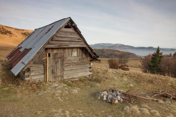 Wielka Fatra - Salaš pod Kýškami (Ploska)