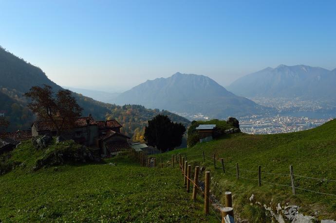Trasa na Monte Resegone2
