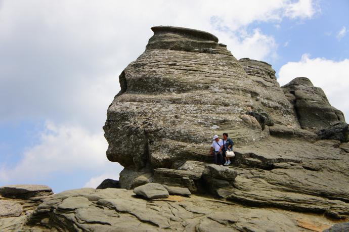 Karpacki Sfinks w Bucegi