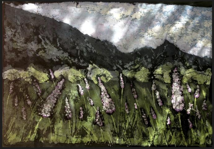 W Dolinie Spokoju ( Dolina Pięciu Stawów Polskich) 100 x 146 cm