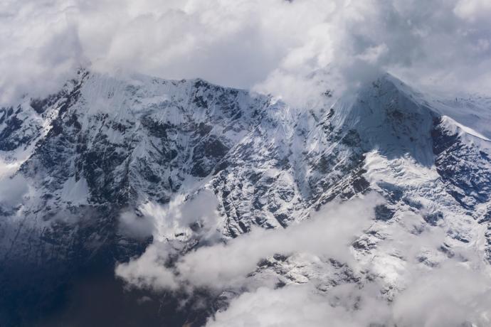 Zimowe wędrówki po górach