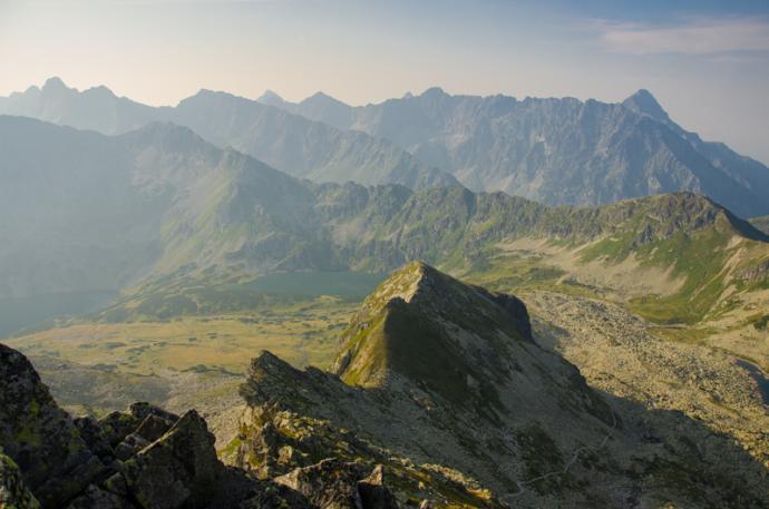 Widok z Przełęczy.