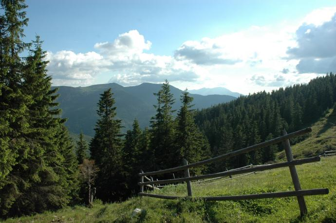 Ostatnia zagroda - dalej już tylko góry i las
