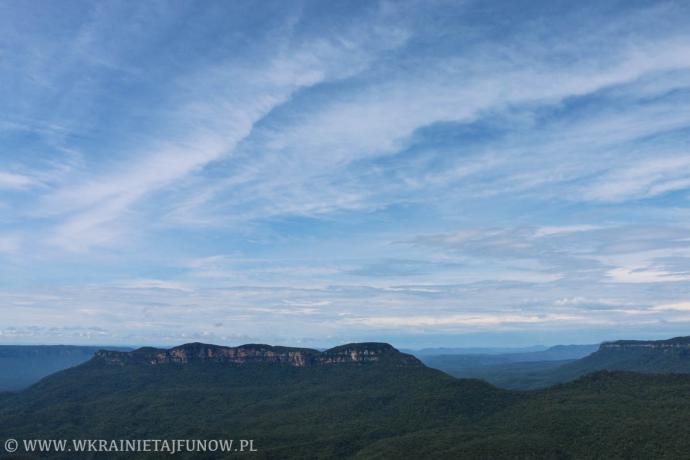 Błękitne Góry w Australii