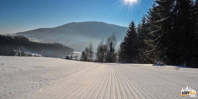 """Zimowa wersja trasy """"Mogielica"""""""