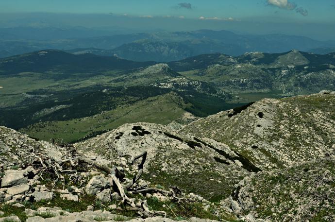 widok z Dinary