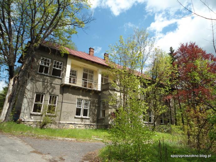 Opuszczony szpital w Nowym Targu