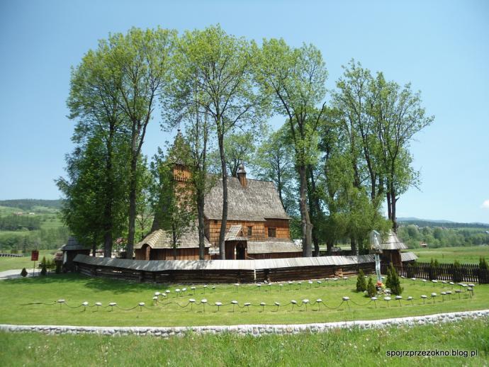 Kościół w Dębnie Podhalańskim