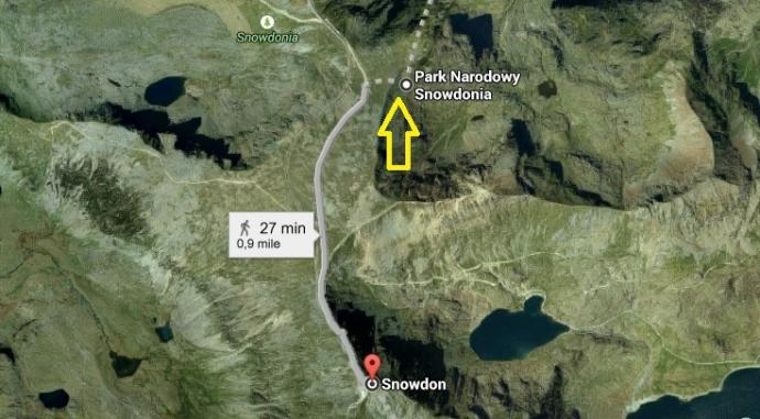 Snowdonia - miejsce na nocleg