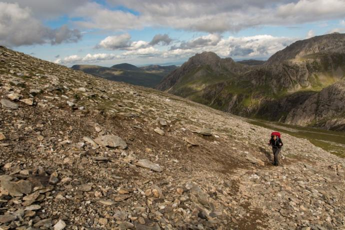 Snowdonia – trekking na Y-Garn