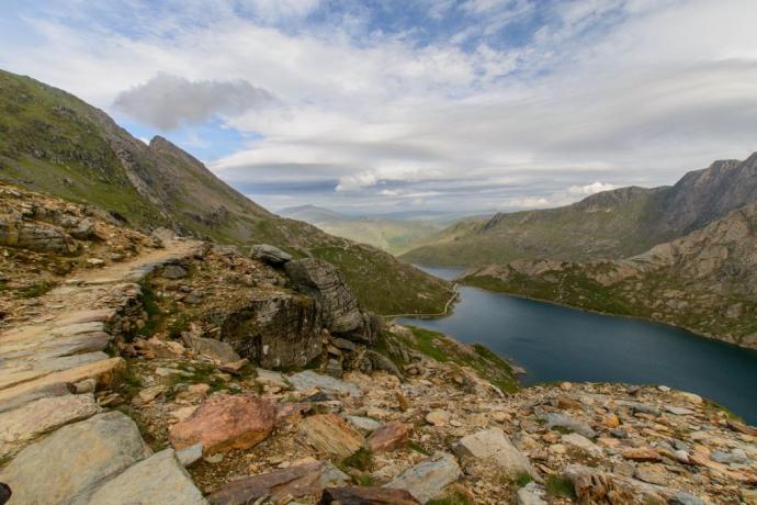 Snowdonia – podejście na Snowdon