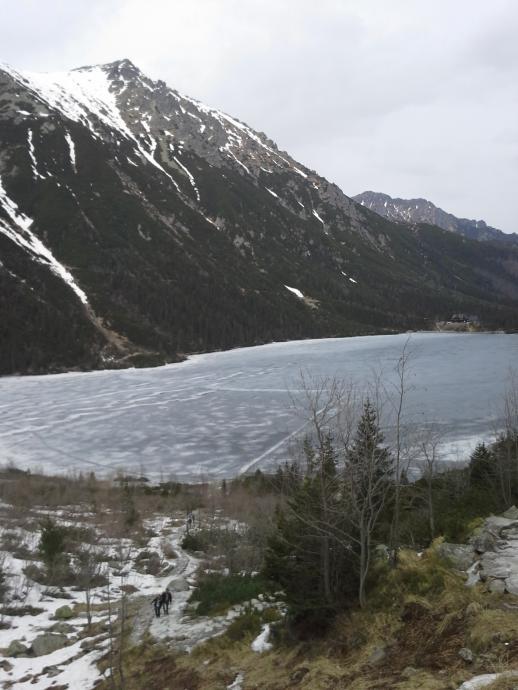 Szlak Zimowyze Schroniska przez Morskie Oko na Czarny Staw pod Rysami