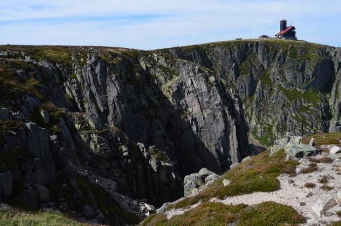 Ściany skalne kotłów