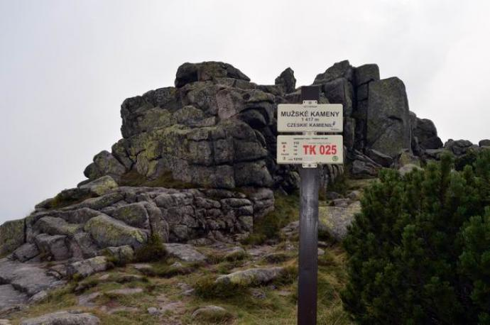 Czeskie Kamienie (Mužské kameny)