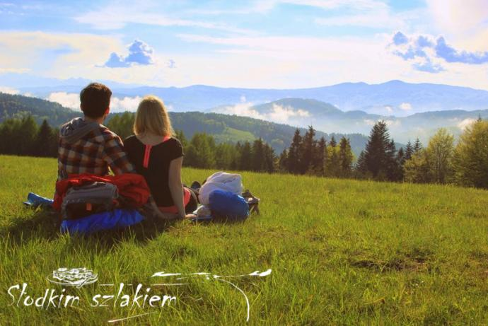 Relaks na polanie Wielkie Młaki