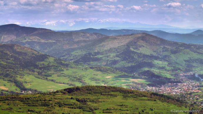 Tatry z okolicy Baraniej Góry