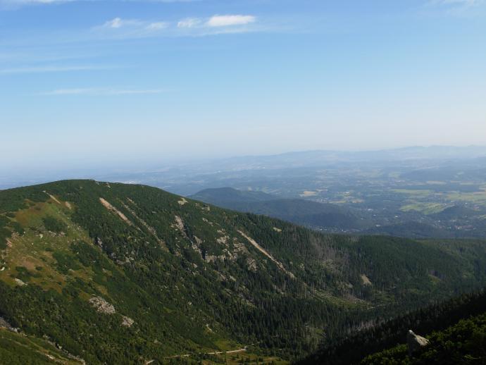 Widok na Kocioł Łomniczki