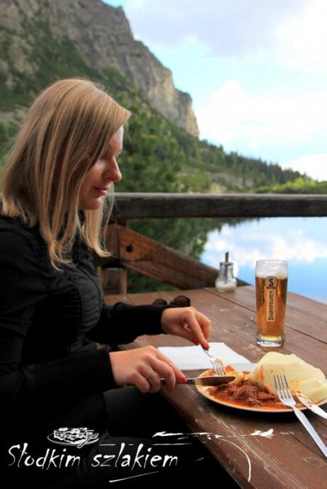 Obiad w Górskim Hotelu
