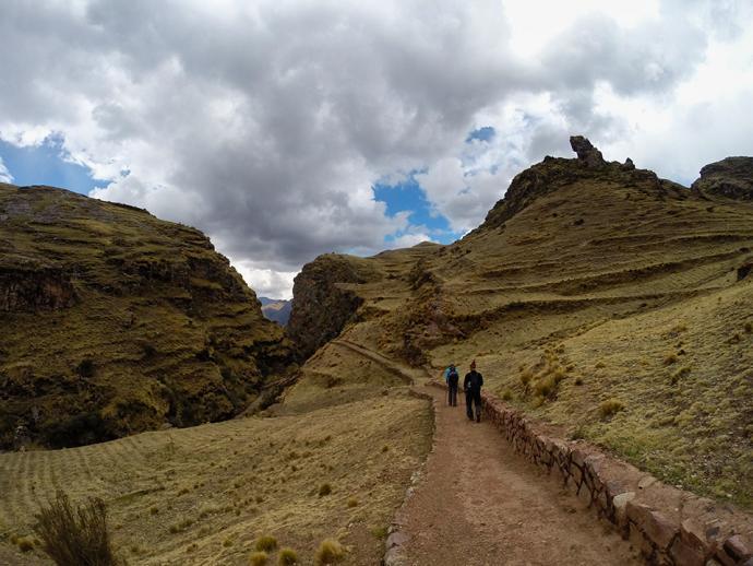 Szlak inkaski, trasa Huchuy Qosqo