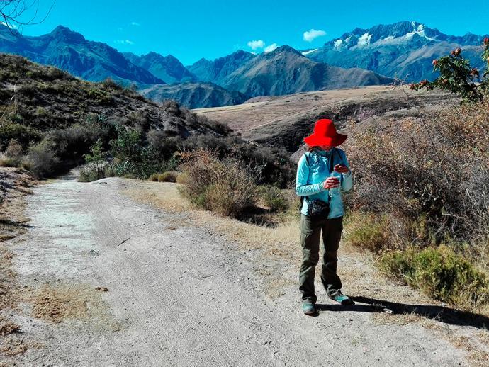 Trekking do kopalni soli w Salineras de Maras