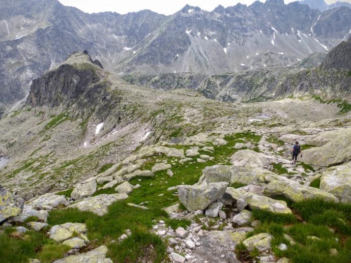 Zejście z Ławki