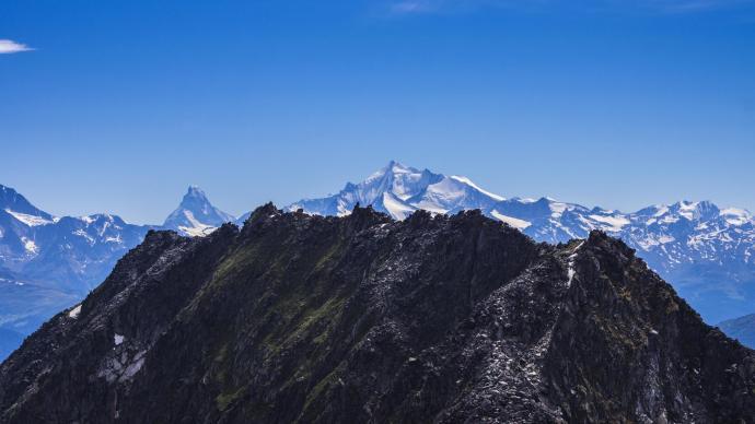 Tymi czarnymi szczytami UNESCO World Heritage high trail, 3.5h - nie na dziś niestety