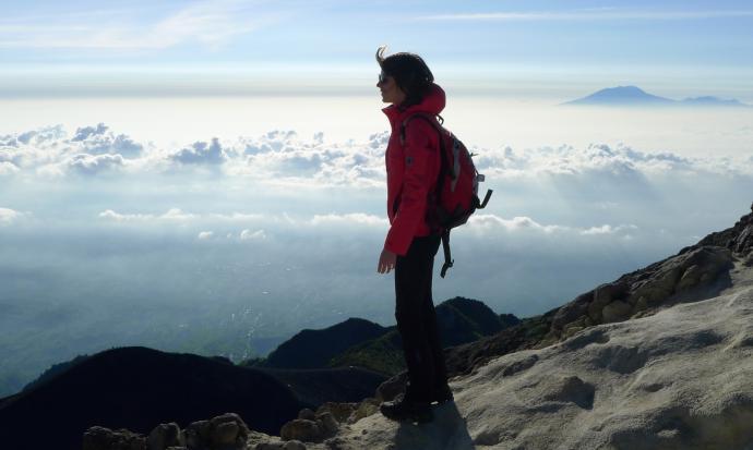 Trasa na Merapi