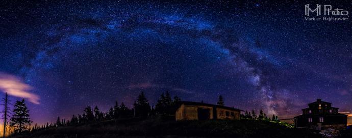 Odrodzenie panorama Droga Mleczna