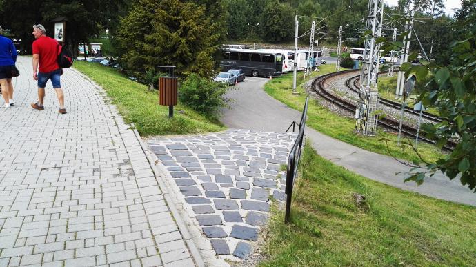 Dworzec autobusowy w Starym Smokowcu