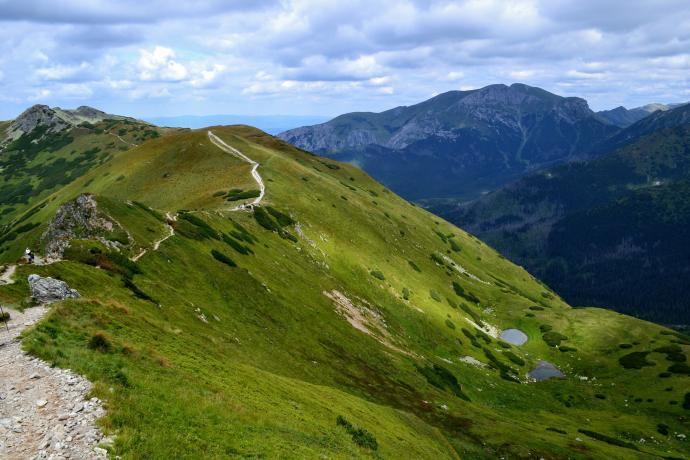 Siwa Przełęcz i Siwe Stawki