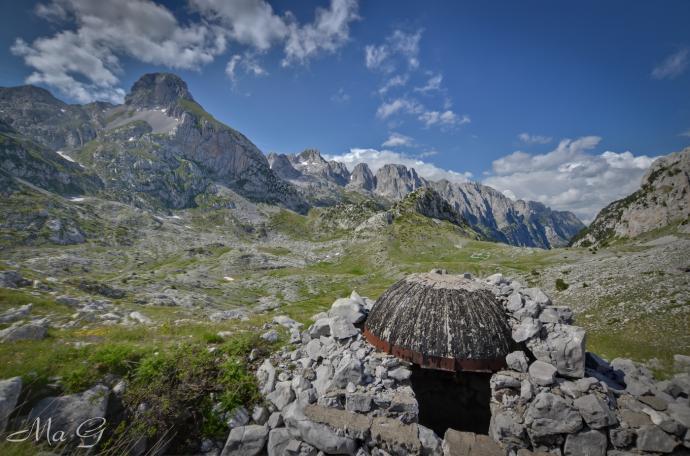 bunkry nawet w górach