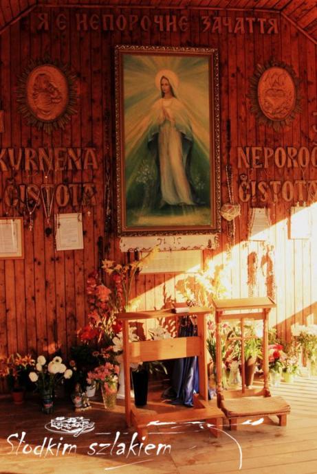 Ołtarz w Sankuarium
