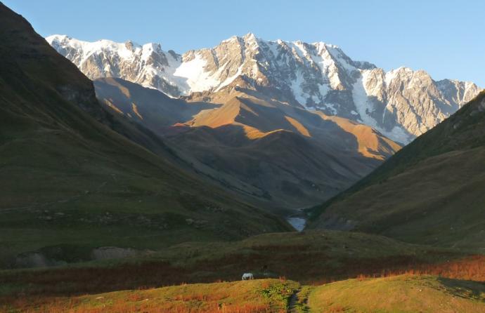 Gruzja - od Uszby do Kazbegi