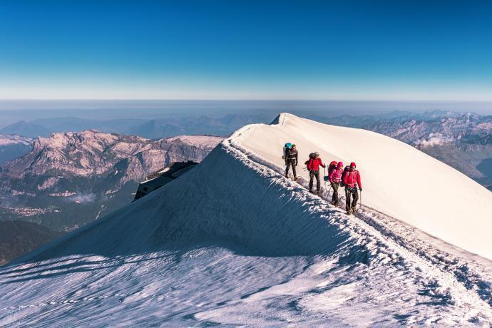 Trekking po lodowcu