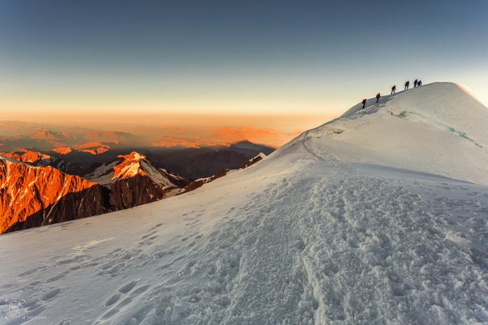 Trekking o wschodzie słońca