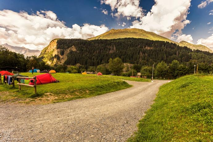 Camping w Les Houches
