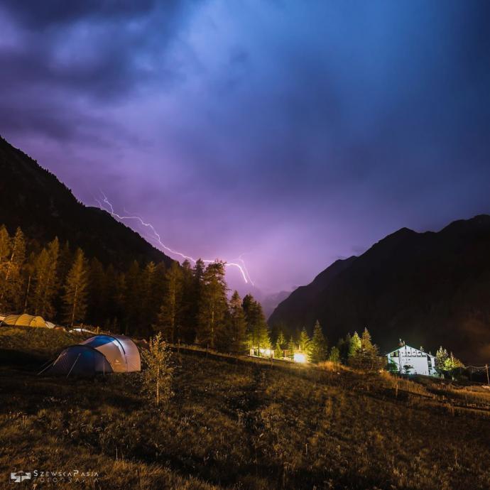 Burza nad Gran Paradiso