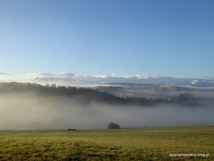 Tatry, jesień, mgła...