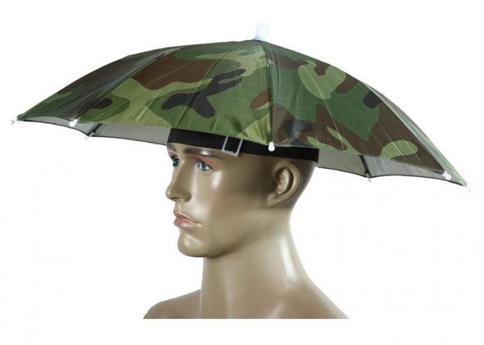 Parasol przyczepiany na głowę