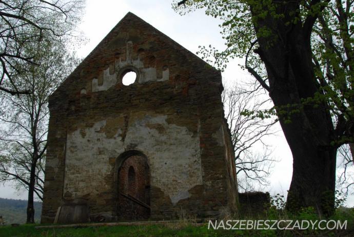 Ruiny cerkwi w Krywem