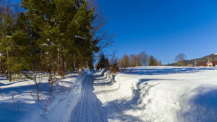 Ruszamy na szlak w prawdziwie zimowej atmosferze